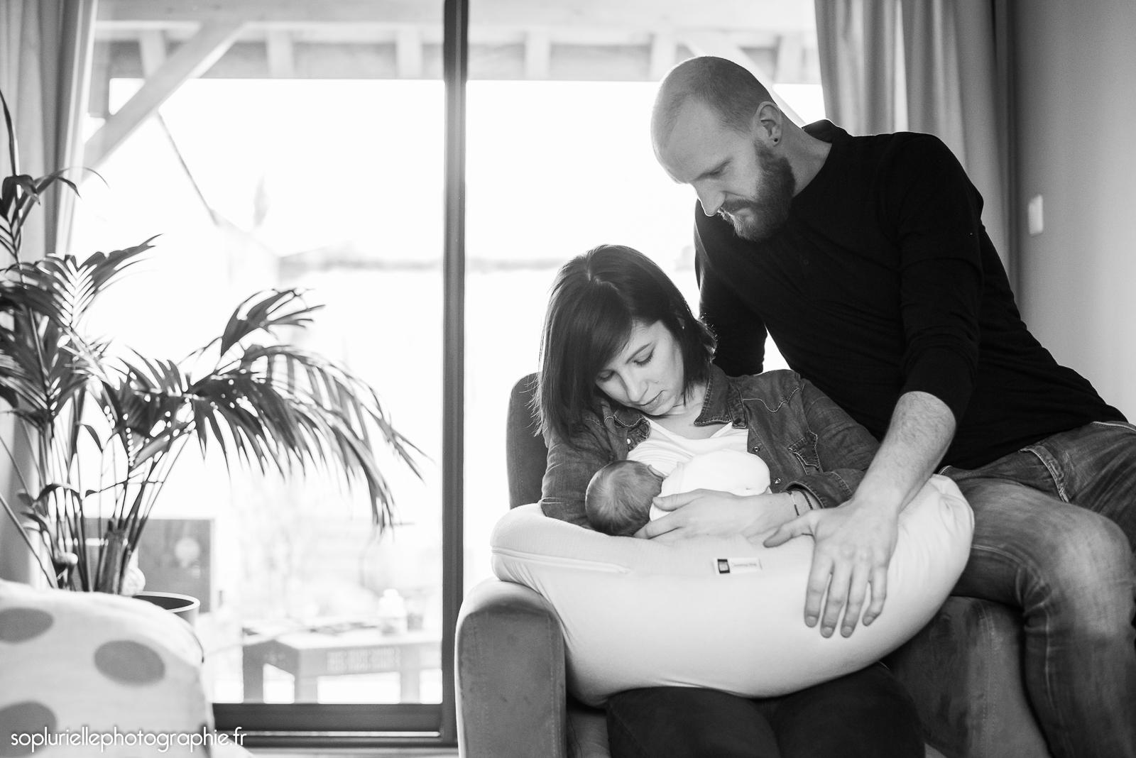 Photographe bébé Dijon à domicile