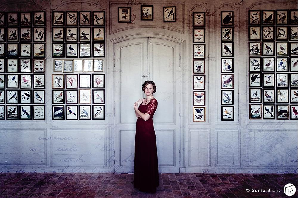 Portrait de femme – Inspiration Jane Austen