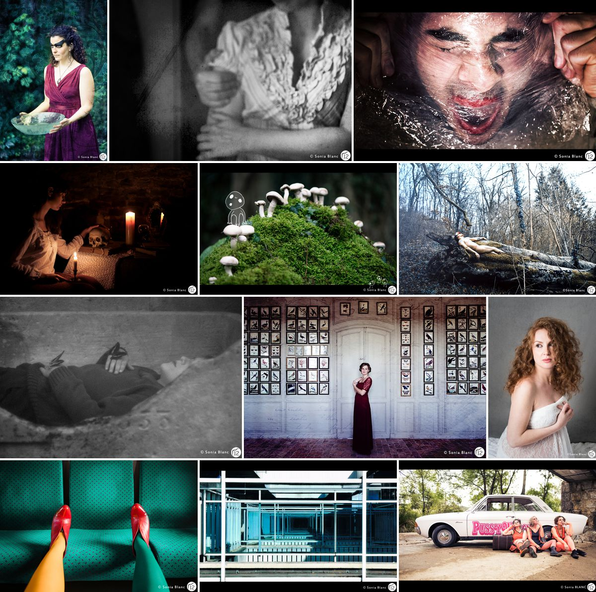 projet photo personnel annuel - 12 photographes s'inspirent