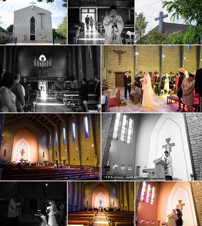Mariage - Cérémonie Eglise Saint-Bernard à Dijon