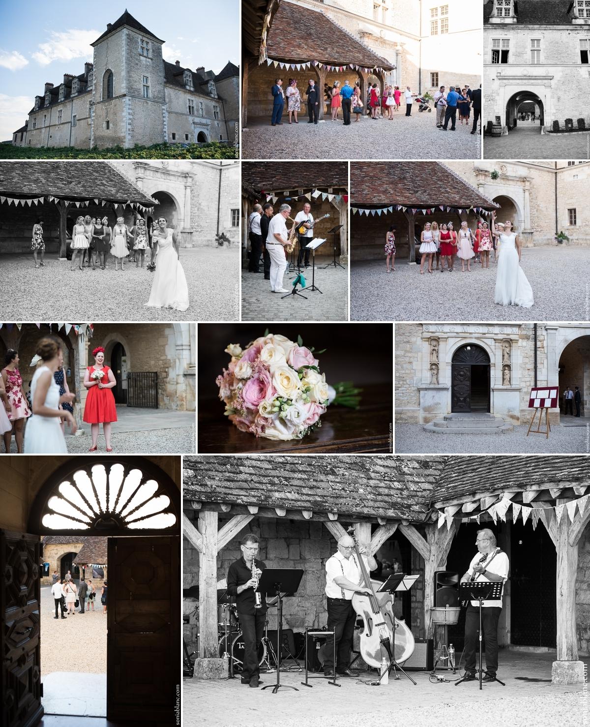 Photos de couple - mariage au clos Vougeot - Côte d'Or - Bourgogne