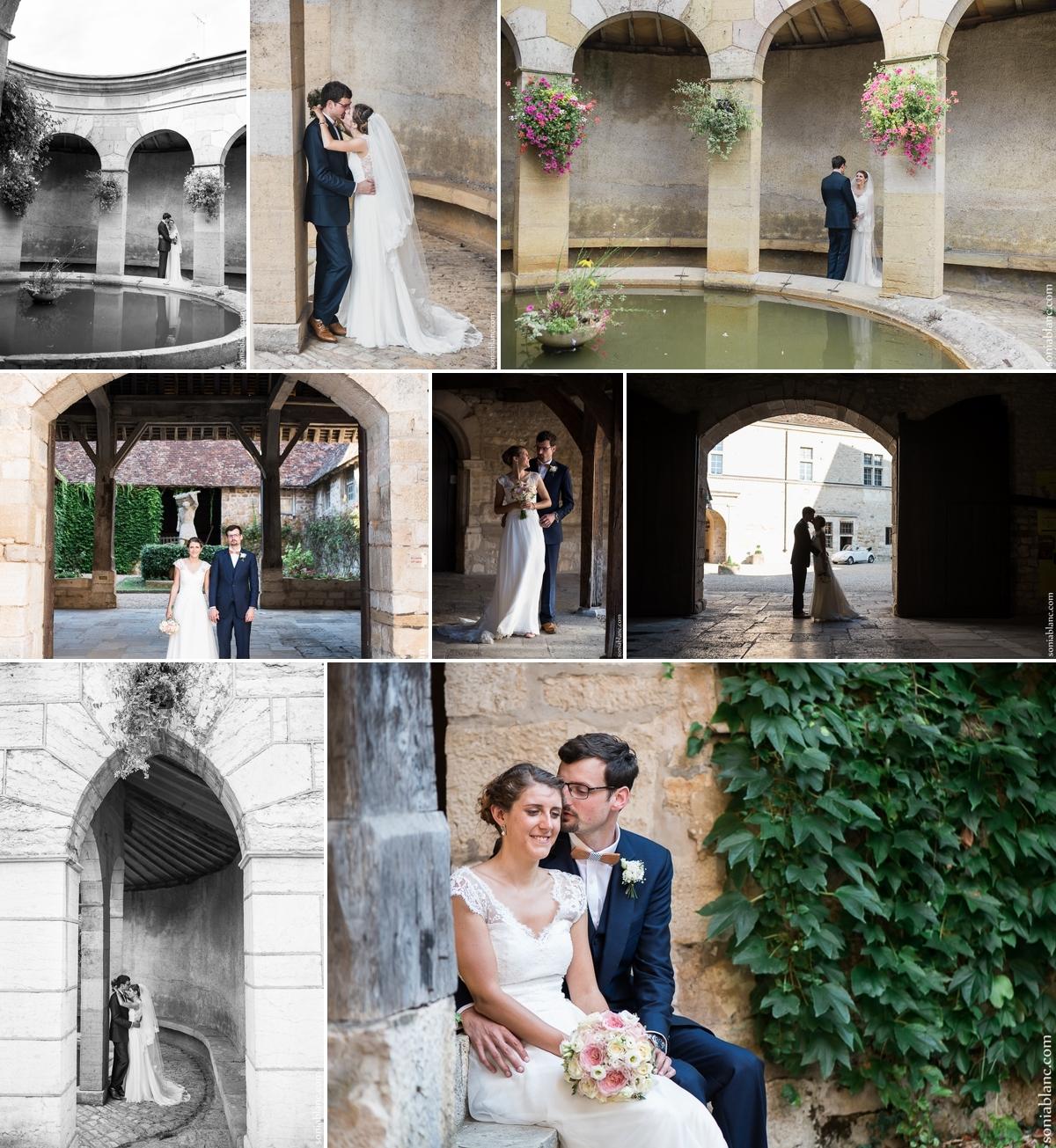 Photos de couple - mariage Fixin - Côte d'Or - Bourgogne