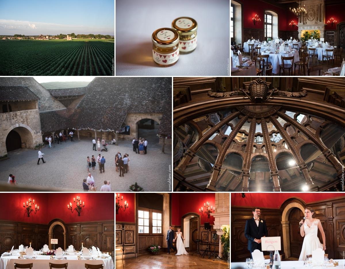 Vin d'honneur mariage au Clos Vougeot - Côte d'Or - Bourgogne