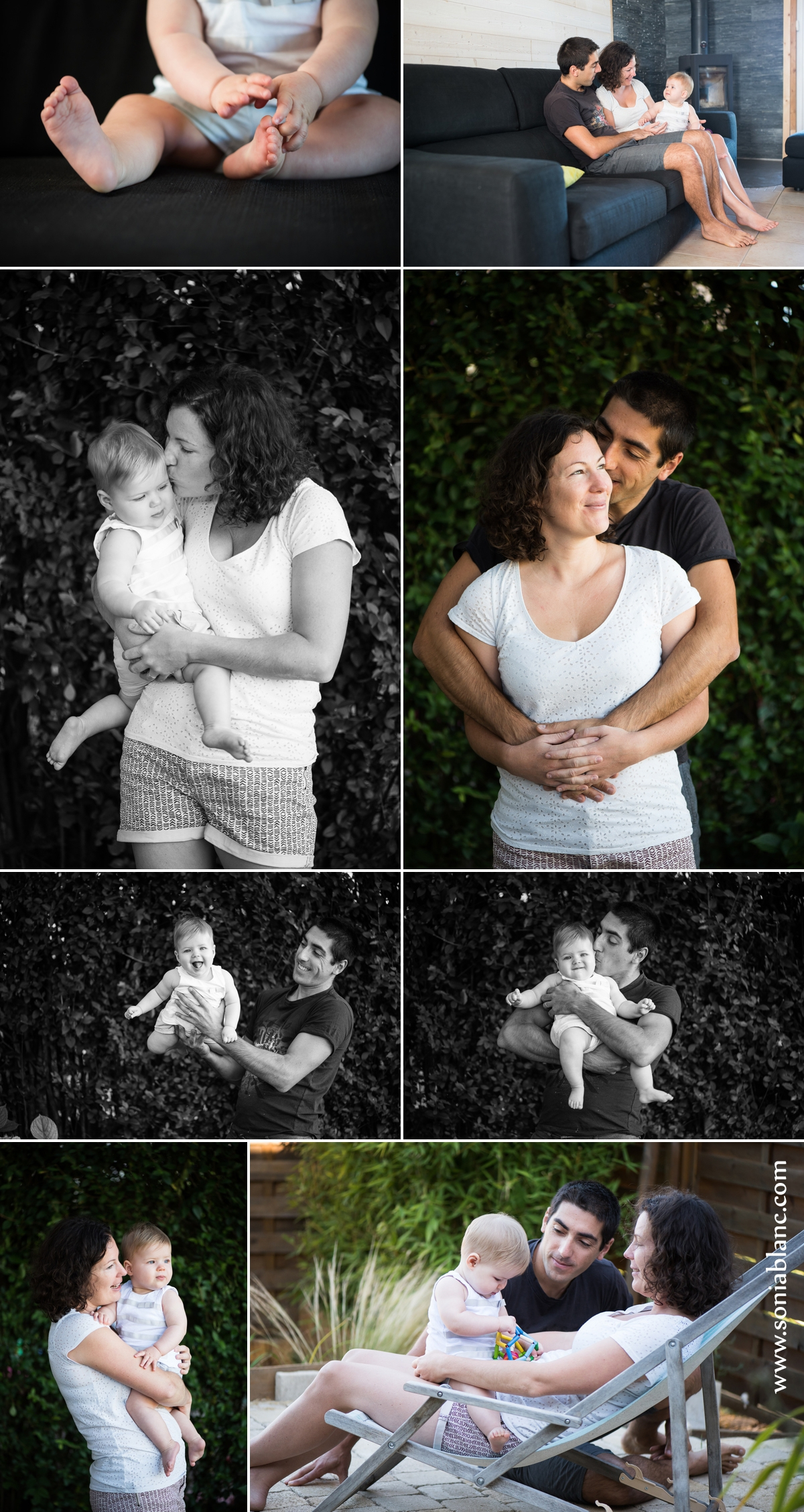 seance photo pour bebe de 1 an à domicile à dijon