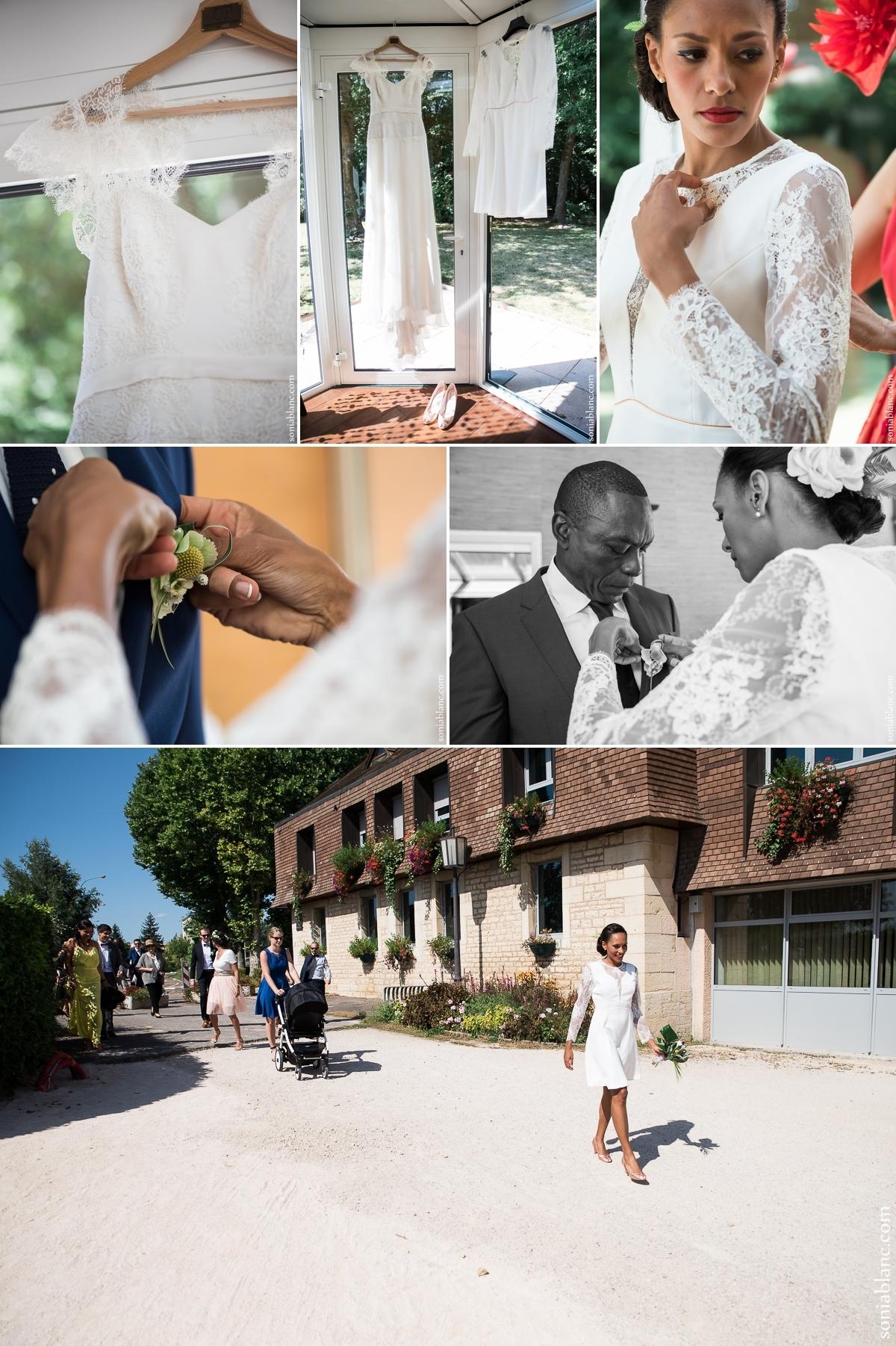 4. mariage à la mairie de chevigny-saint-sauveur