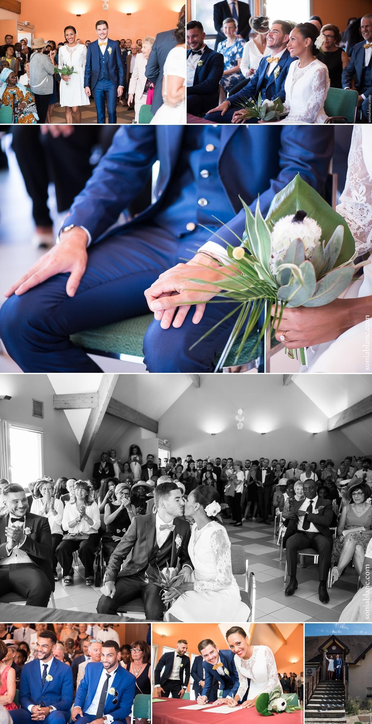 5. mariage à la mairie de chevigny-saint-sauveur - bourgogne