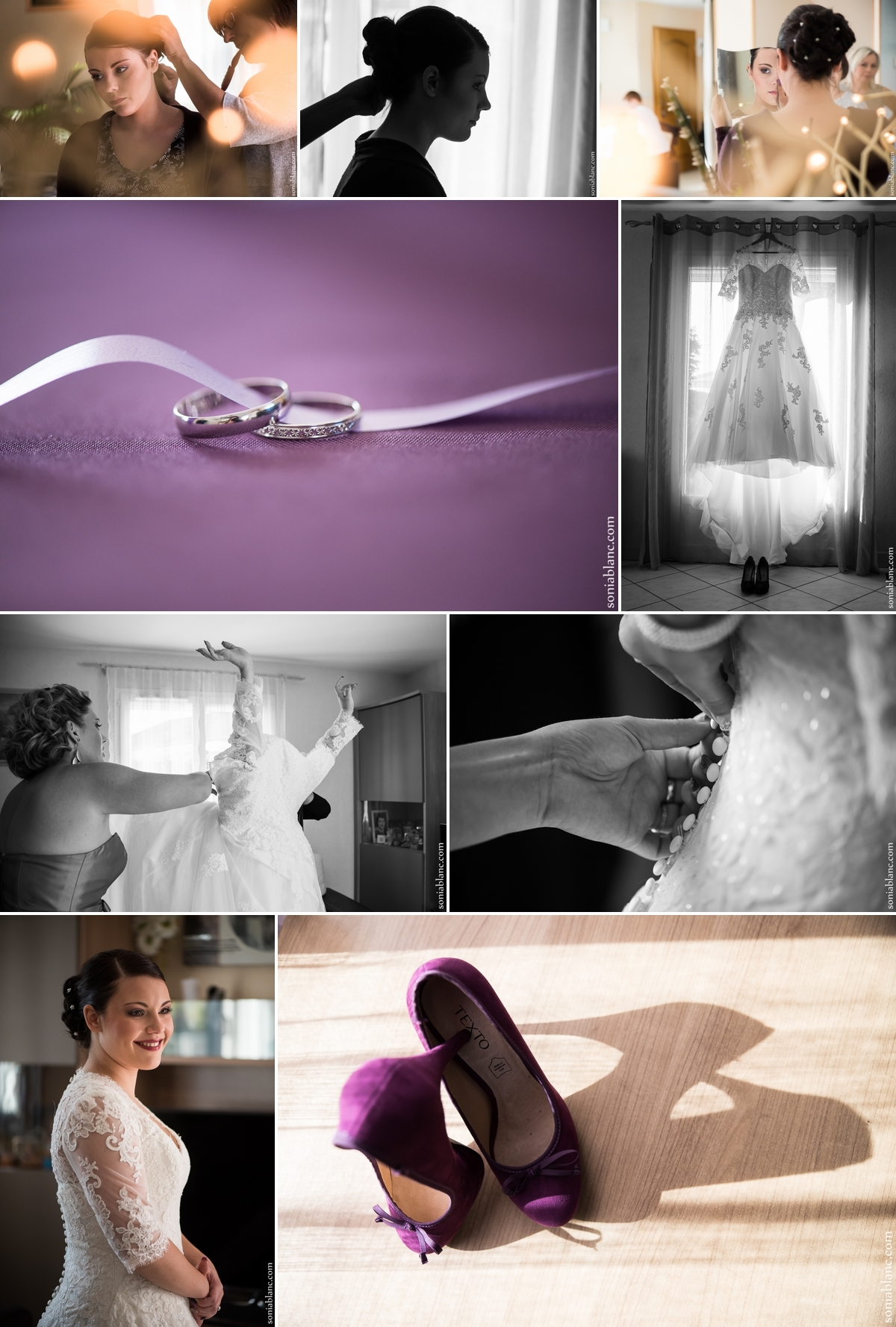 5. preparatifs de la mariee - mariage à arc sur tille - bourgogne