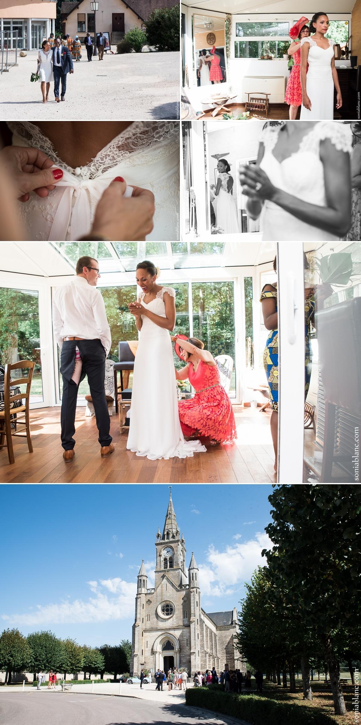 6. mariage à l'eglise - chevigny-saint-sauveur