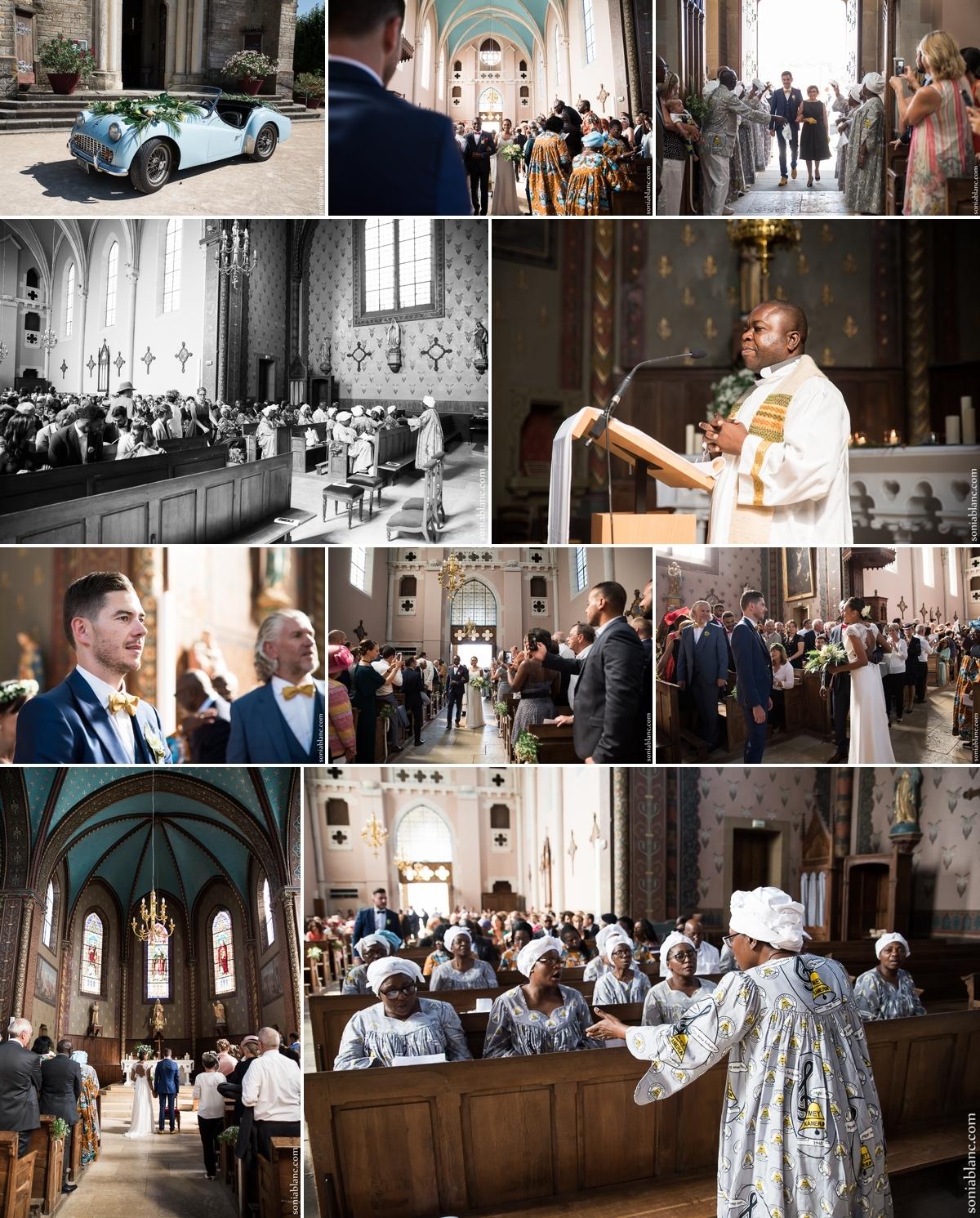 7. mariage à l'église - chevigny-saint-sauveur - bourgogne