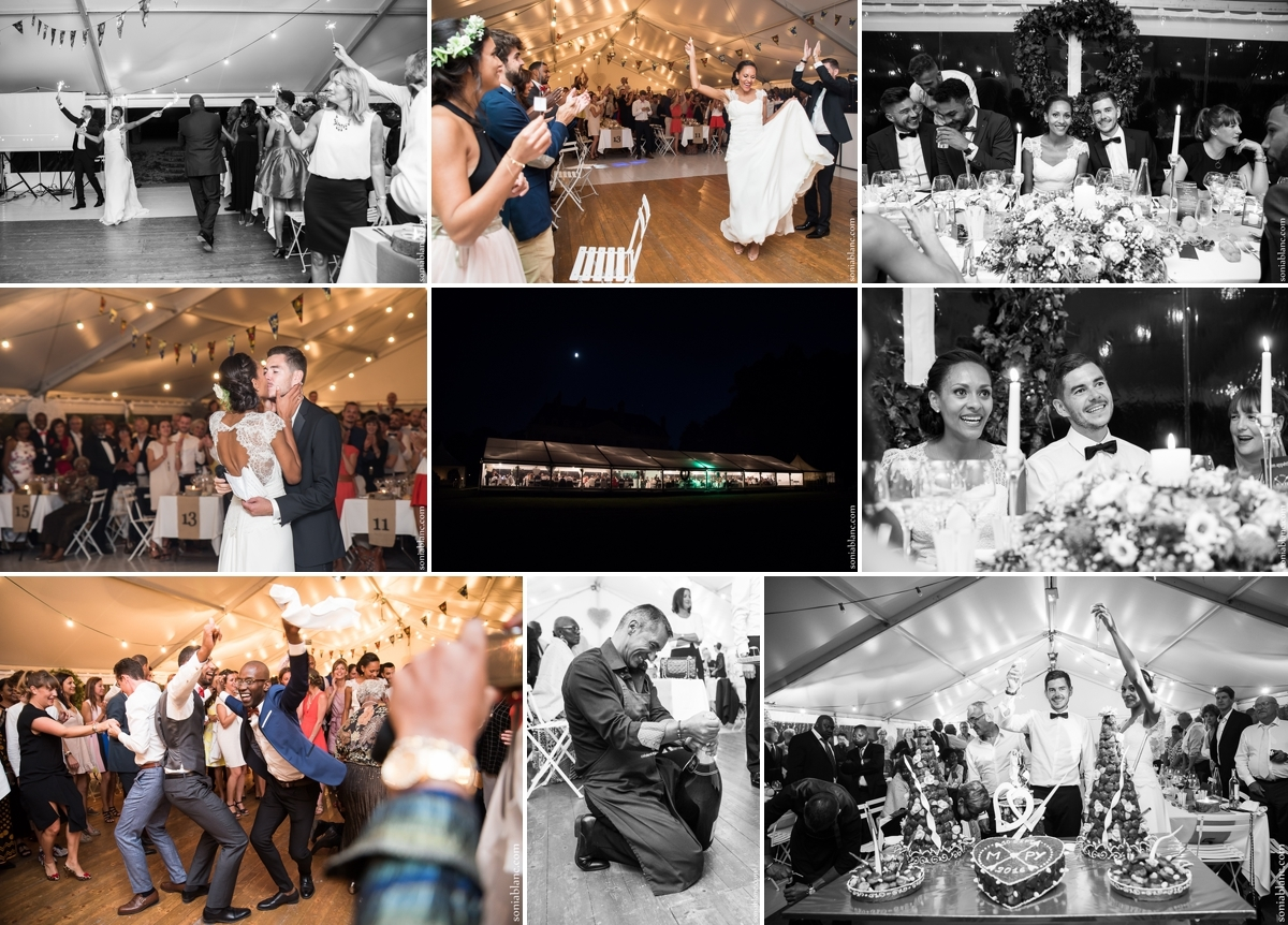 95. soirée de mariage - chateau de brognon - bourgogne