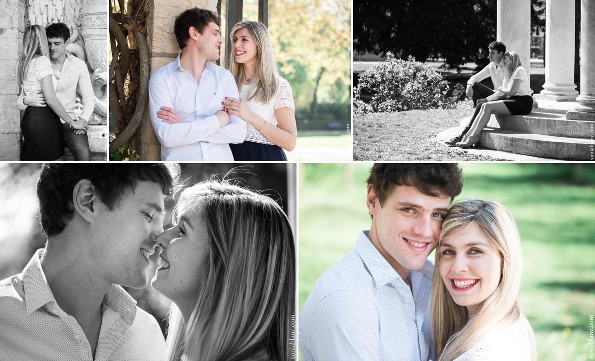 Laura et raphael - séance photo amoureux-dijon