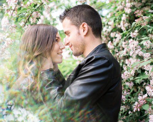 Séance photo en amoureux – Dijon – Gaëlle et Nicolas