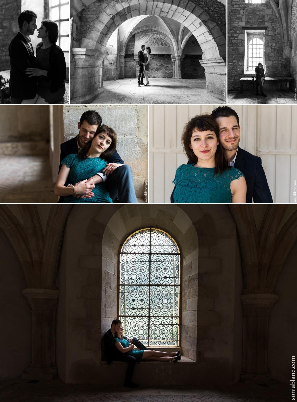Valerie et Louis-Marie - séance photo couple - Montbard - cote d'or - bourgogne