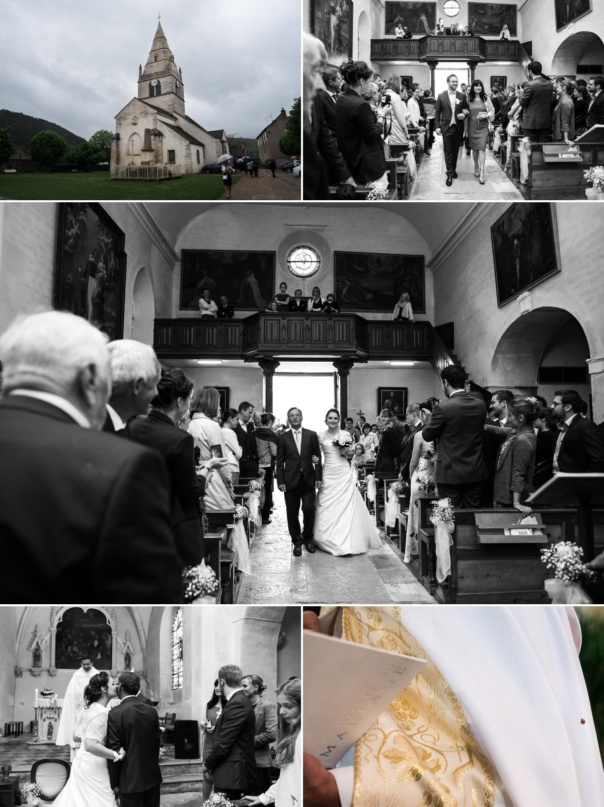 Mariage à L'eglise - Meursault - Côte de Beaune - Bourgogne - Sonia Blanc photographe