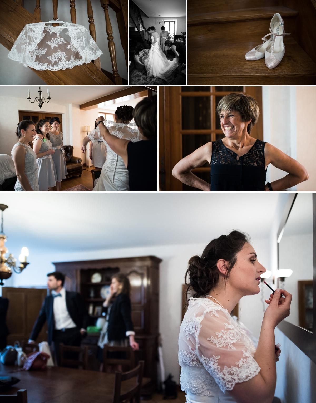 Preparatifs de la mariée - Auxey-Duresses - Bourgogne - Sonia Blanc Photographe