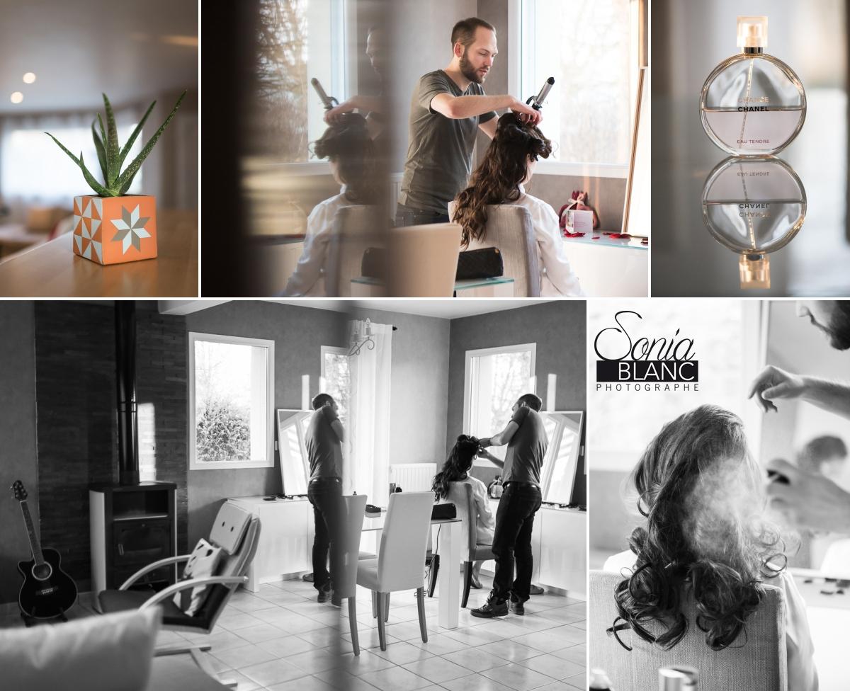 1 - Preparatifs - mariage à rennes - Bretagne - manoir de la begaudiere - sonia blanc photographe