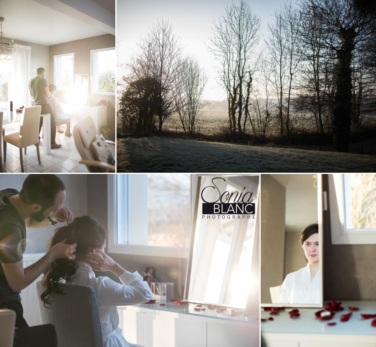 3 - Preparatifs - mariage à rennes - Bretagne - manoir de la begaudiere - sonia blanc photographe