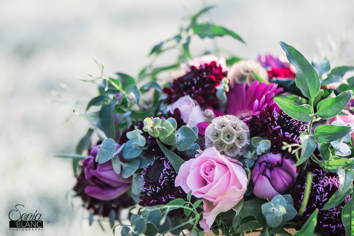 4 - bouquet de la mariée - mariage à rennes - Bretagne - manoir de la begaudiere - sonia blanc photographe
