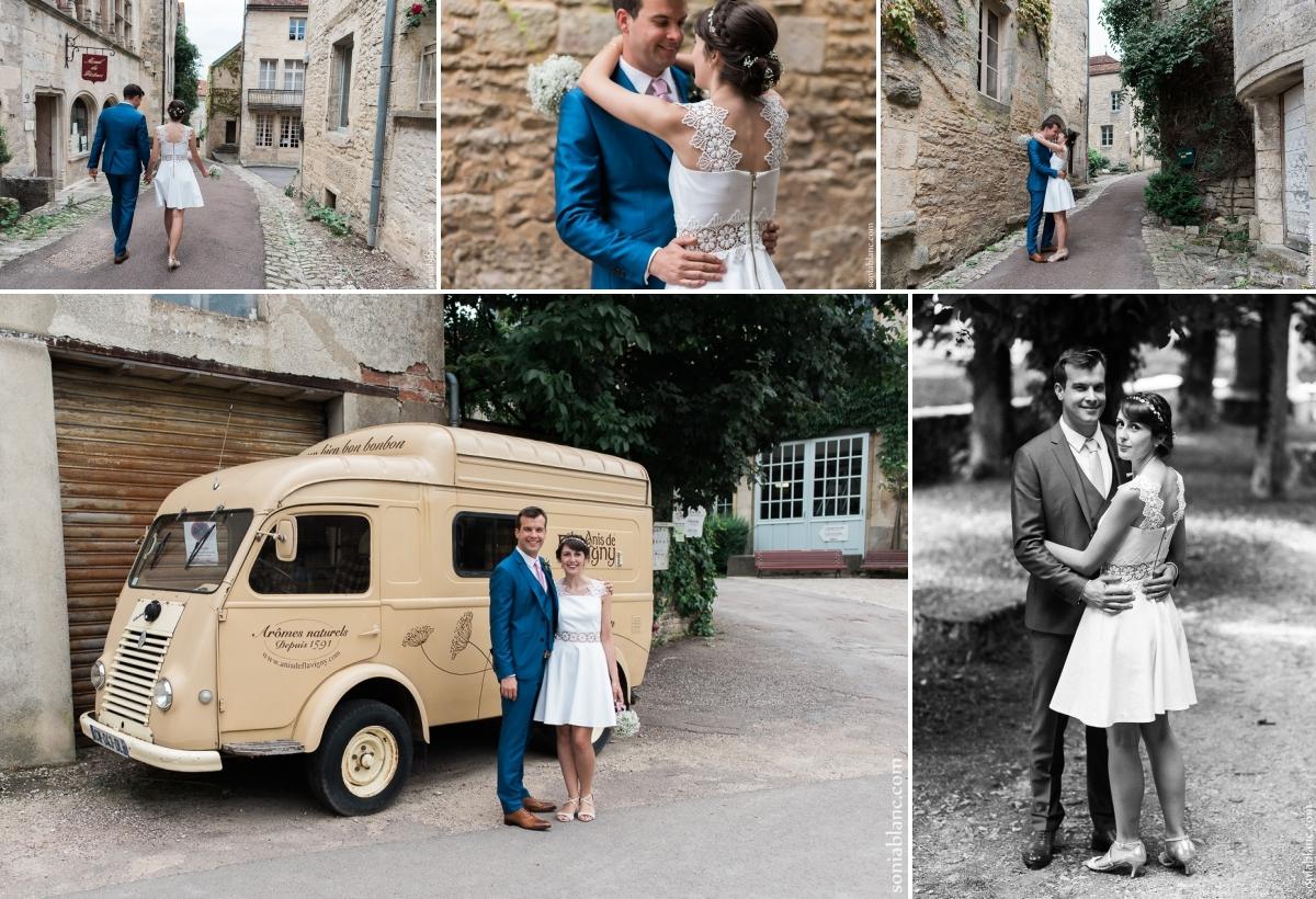 6. Mariage à Flavigny sur Ozerain - château de Thenissey - bourgogne - photographe de mariage