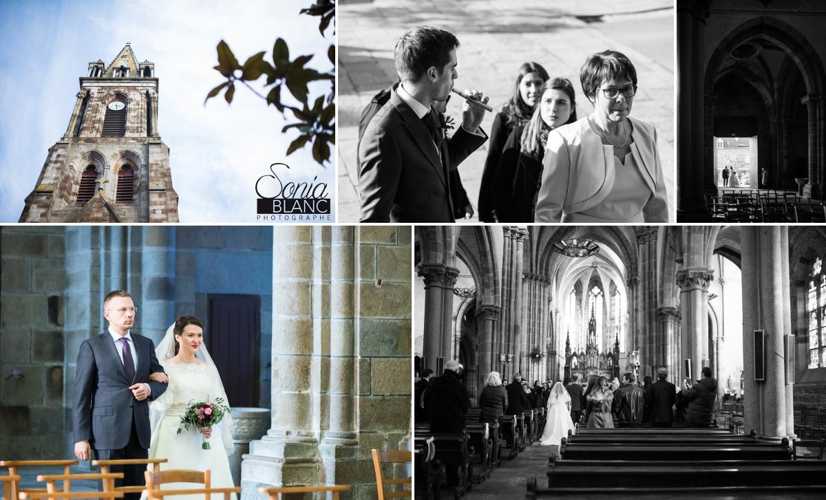 91 - ceremonie religieuse - mariage à rennes - Bretagne - manoir de la begaudiere - sonia blanc photographe