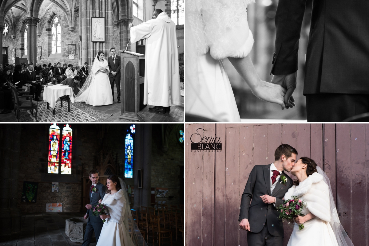 93 - eglise - mariage à rennes - Bretagne - manoir de la begaudiere - sonia blanc photographe