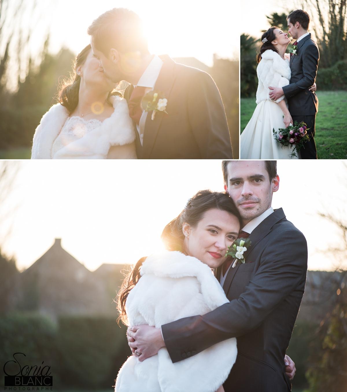 95 - photo de couple - mariage à rennes - Bretagne - manoir de la begaudiere - sonia blanc photographe