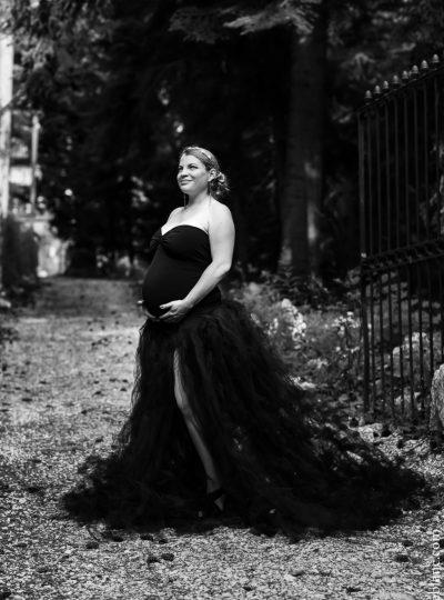 Sandrine Séance photo maternité par Sonia Blanc Photographe à Fixin