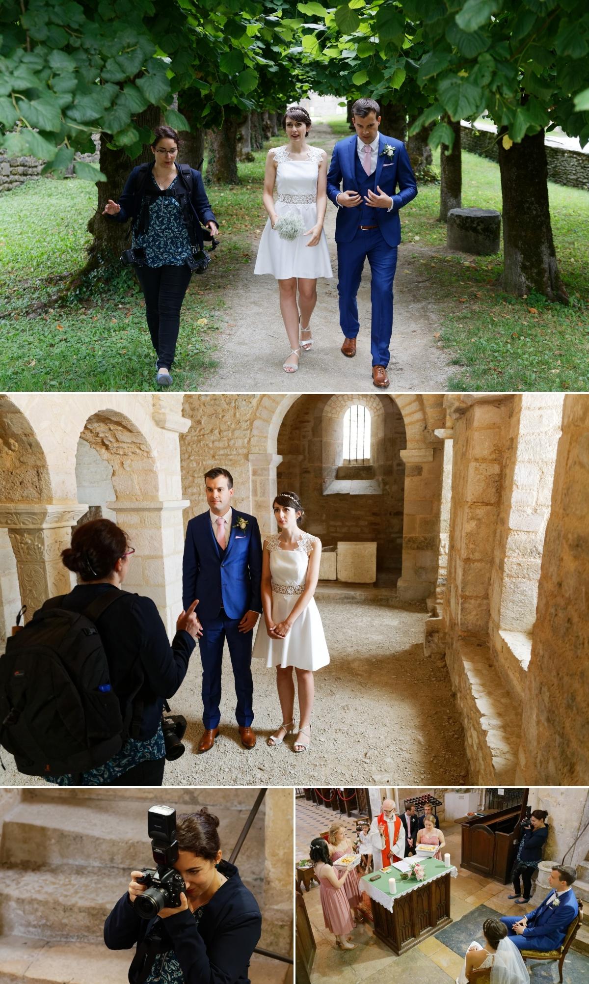 backstage - photographe de mariage - bourgogne