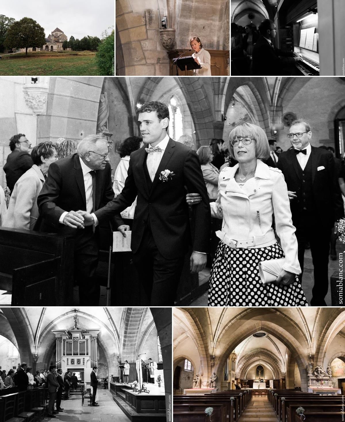 4. reportage photo de mariage à dijon - eglise fontaine-les-dijon