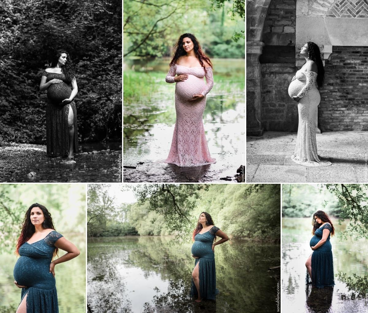 Séance photo femme enceinte - montbard - Sonia Blanc Photographe