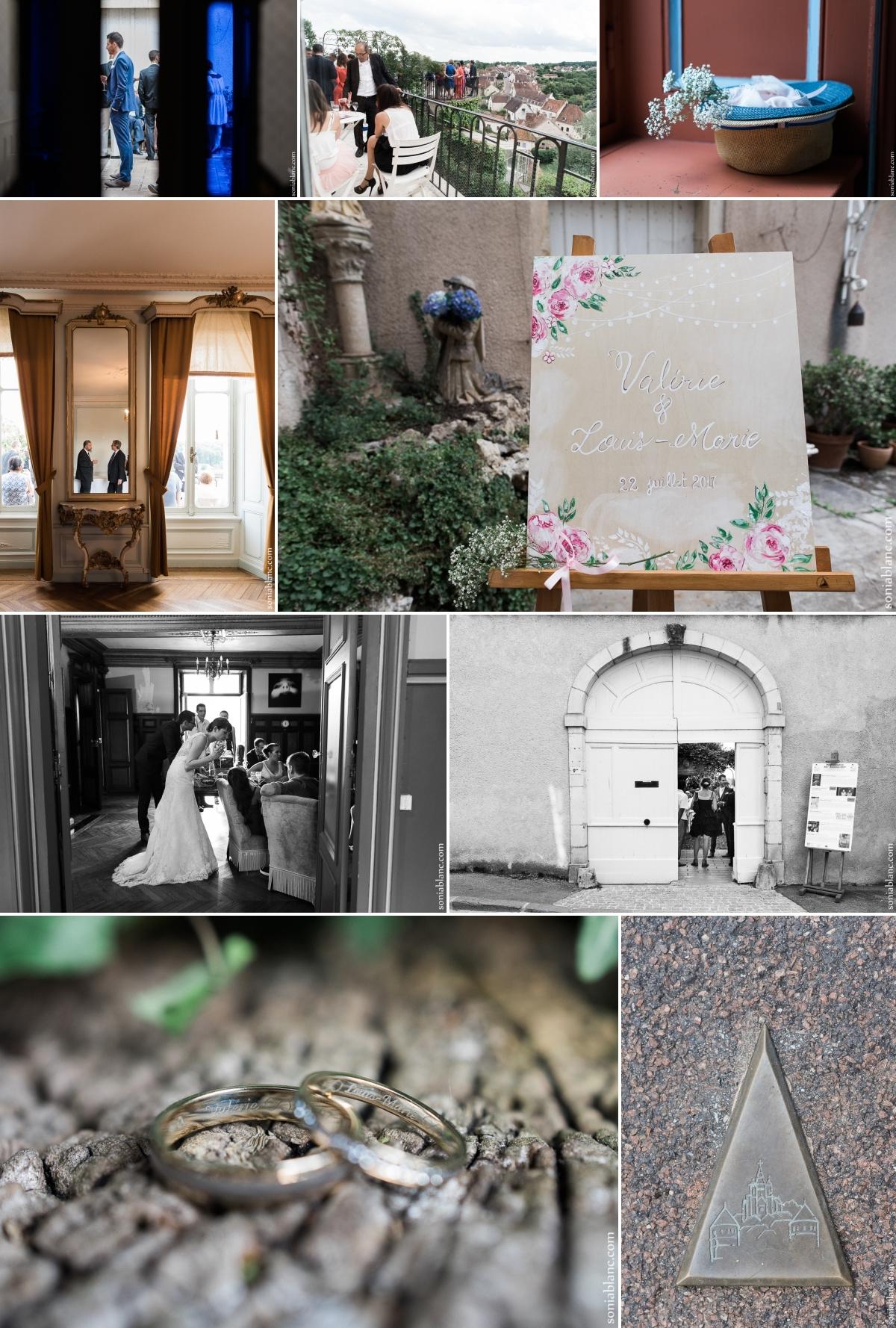 maison févret - mariage - semur auxois