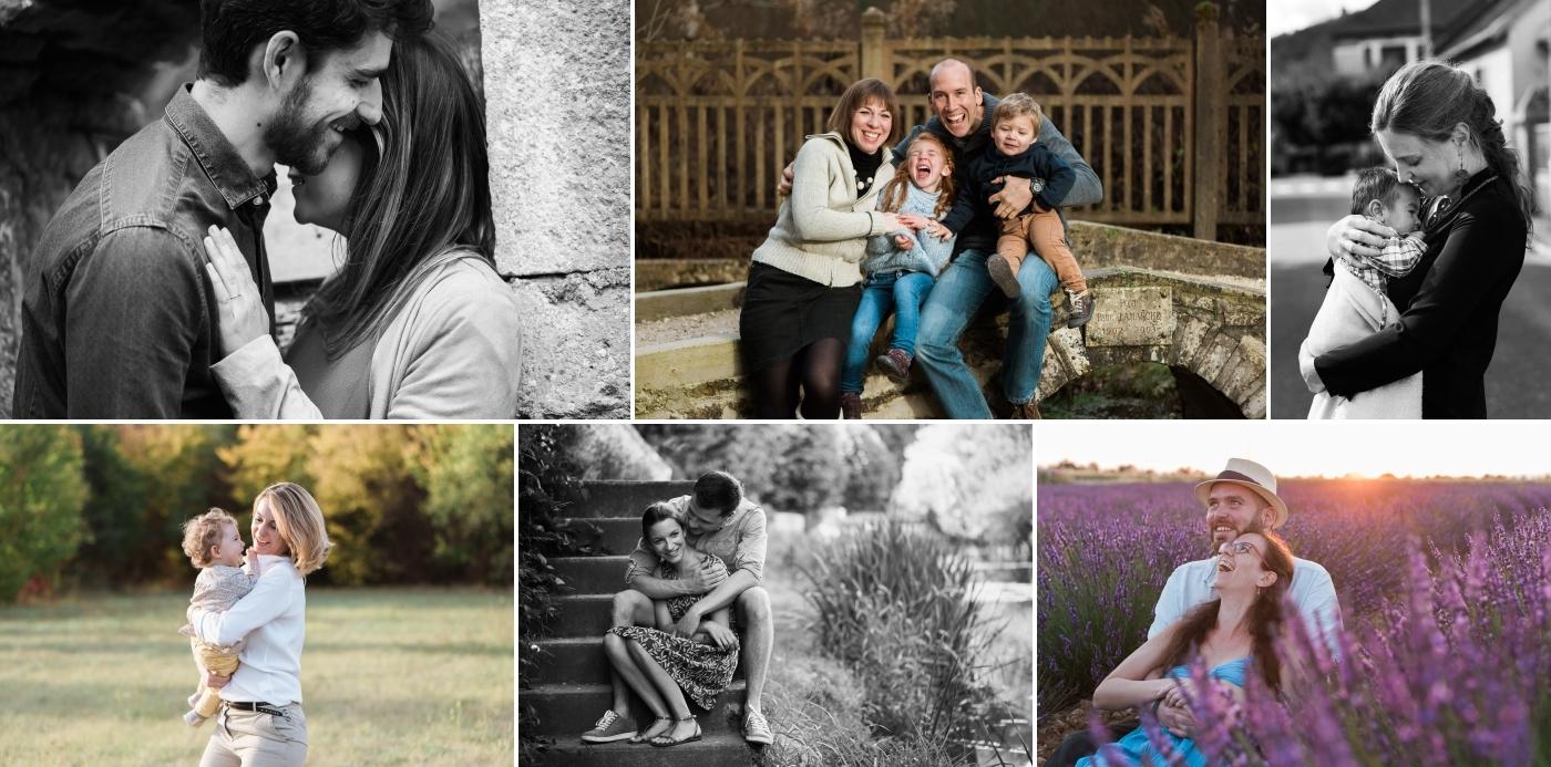 Photographe famille couple enfant Dijon